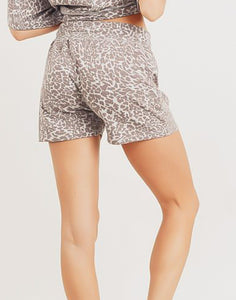 Cheetah Power Sepia  Shorts