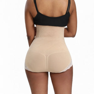 Plus Size High Waist Butt Lifter Tummy Control Panty