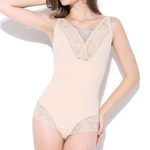 Body Shaper Seamless Lace Sexy Bodysuit