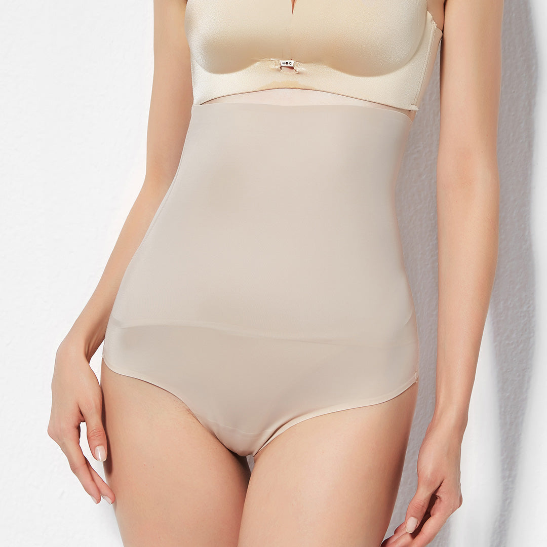 Seamless High Waisted Tummy Control Thong
