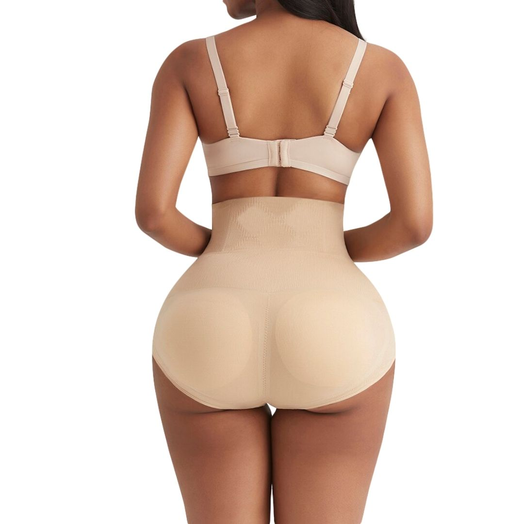 Plus Size Padded Fake Buttocks High Waist Hip Enhancer Shapewear