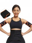 Load image into Gallery viewer, Red Neoprene 2 Pcs Arm Trimmers With Pockets Arm Shaper
