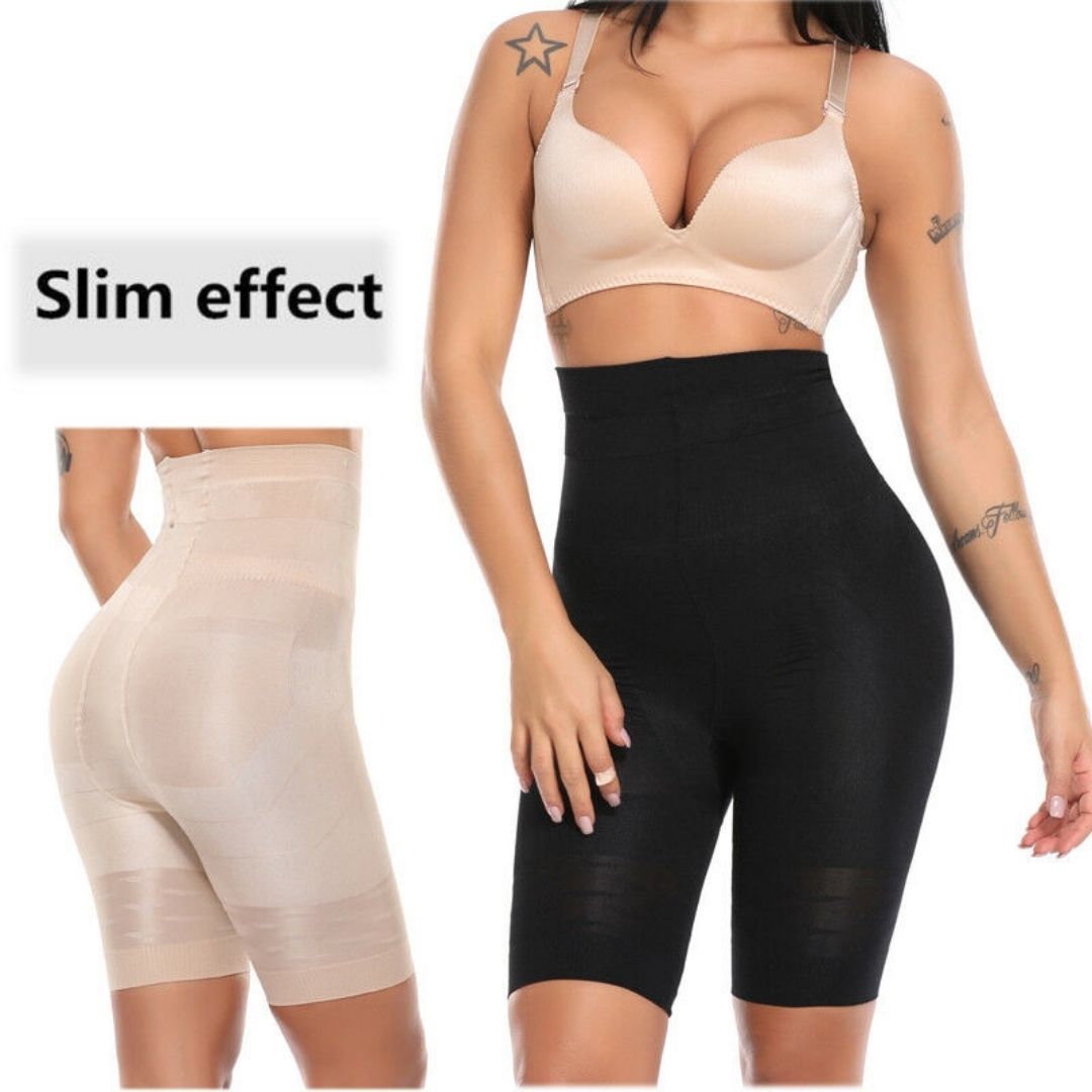 Women Body Shaper Tummy Control High Waist Shapewear Shorts