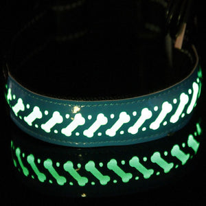 Collar LED Con Diseños Ajustable Recargable USB