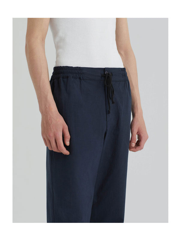 Straight pants with side pockets and drawstring waistband by Paloma Wool