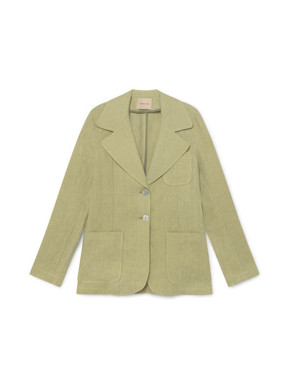 Linen blazer with three pockets by Paloma Wool