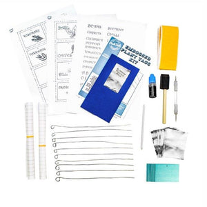 Plant Labels Embossing Kit