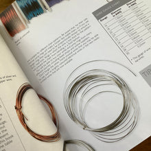 Load image into Gallery viewer, Encyclopedia of Wire Jewellery by Sara Withers