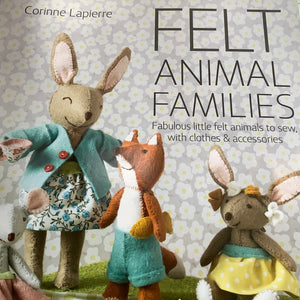 Felt Animal Families by Corinne Lapierre