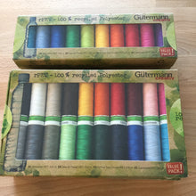 Load image into Gallery viewer, Gutermann 100% Recycled Polyester Sewing Thread