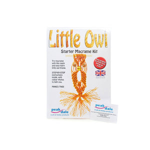 Macrame Small Owls Craft Kit