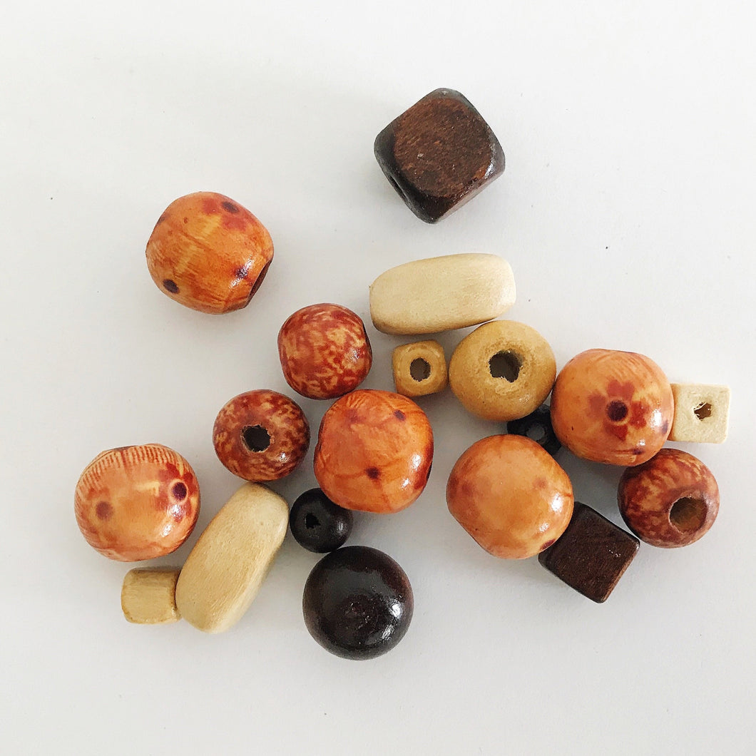 Fairtrade Wooden Beads