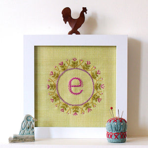 Alphabet Embroidery Transfer Set