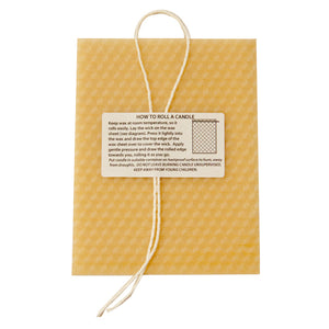 Make Your Own Beeswax Candle Kit-In-a-Card