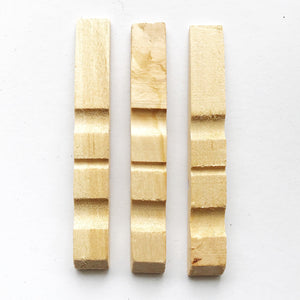 Natural Peg Halves
