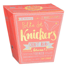 Load image into Gallery viewer, Make Polka Dot Knickers Craft Kit