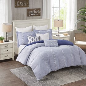 Coastal Farmhouse Comforter Set