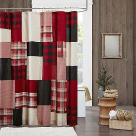 Sunset 100% Cotton Shower Curtain