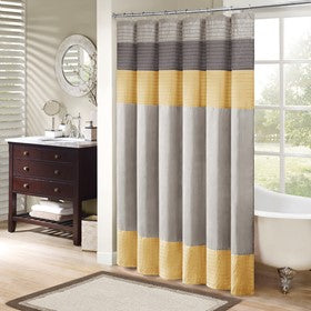 Amherst Faux Silk Shower Curtain