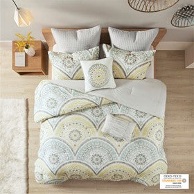 Matti 7 Piece Cotton Comforter Set