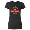 Women's Slim Fit St. George Strong Sunset T-shirt