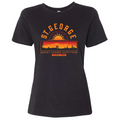 Women's Relaxed Fit St. George Strong Sunset T-shirt
