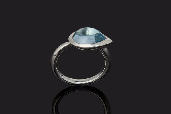 Gem Pear Ring