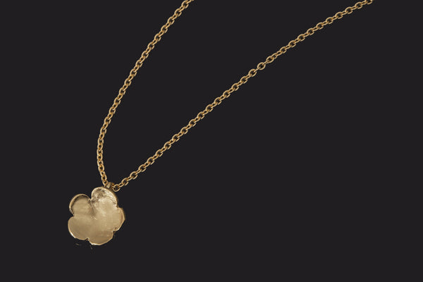 Cherry Blossom Pendant - Gold Plated