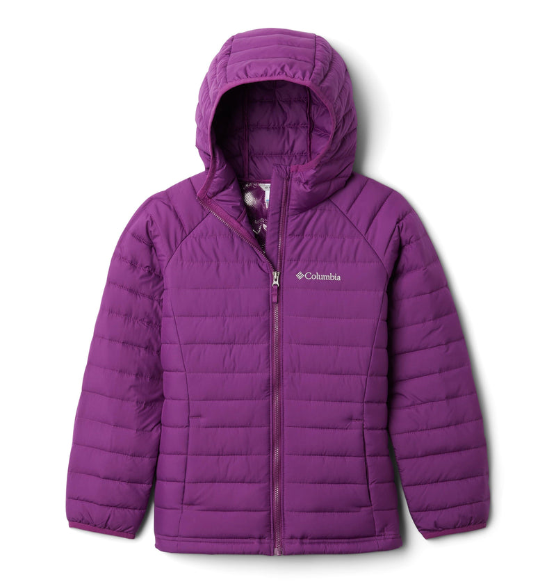 Columbia Powder Lite Girls Hooded Jacket | COLUMBIA | Portwest