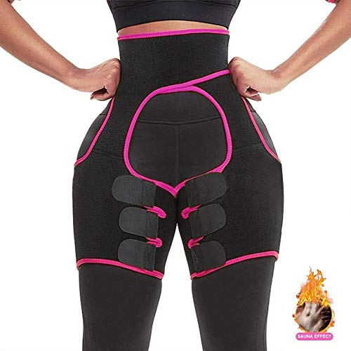 Waist Trainer for Women - Thigh & Waist Shaper - Slimming Body Corset - (M)