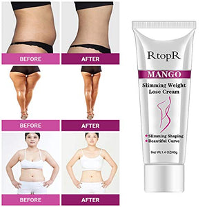 Slimming Cream for Tummy, Abdomen, Belly and Waist - Firming Cream - Hot Cream for Weight Loss