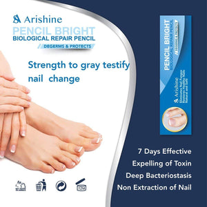 Arishine Toenail Fungus Treatment, Maximum Strength Anti-Fungal Nail Solution, 4pcs.