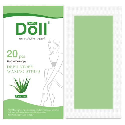 Hair Removal Waxing Strips for Face Legs Underarms Brazilian Bikini Women