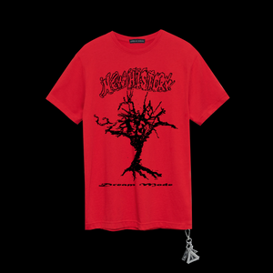 New History Tee ® in Red