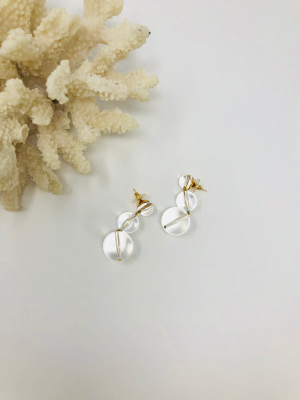 Garbo Lucite Earrings