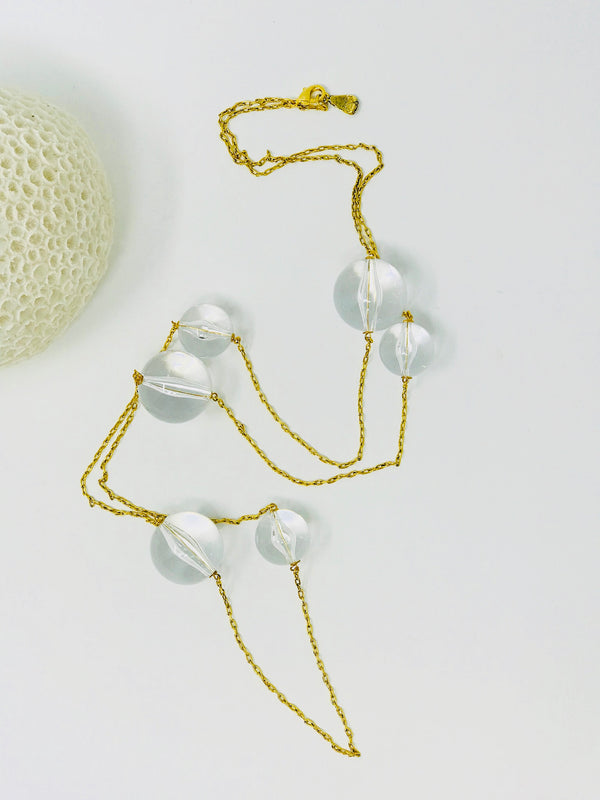 Greta Lucite Necklace