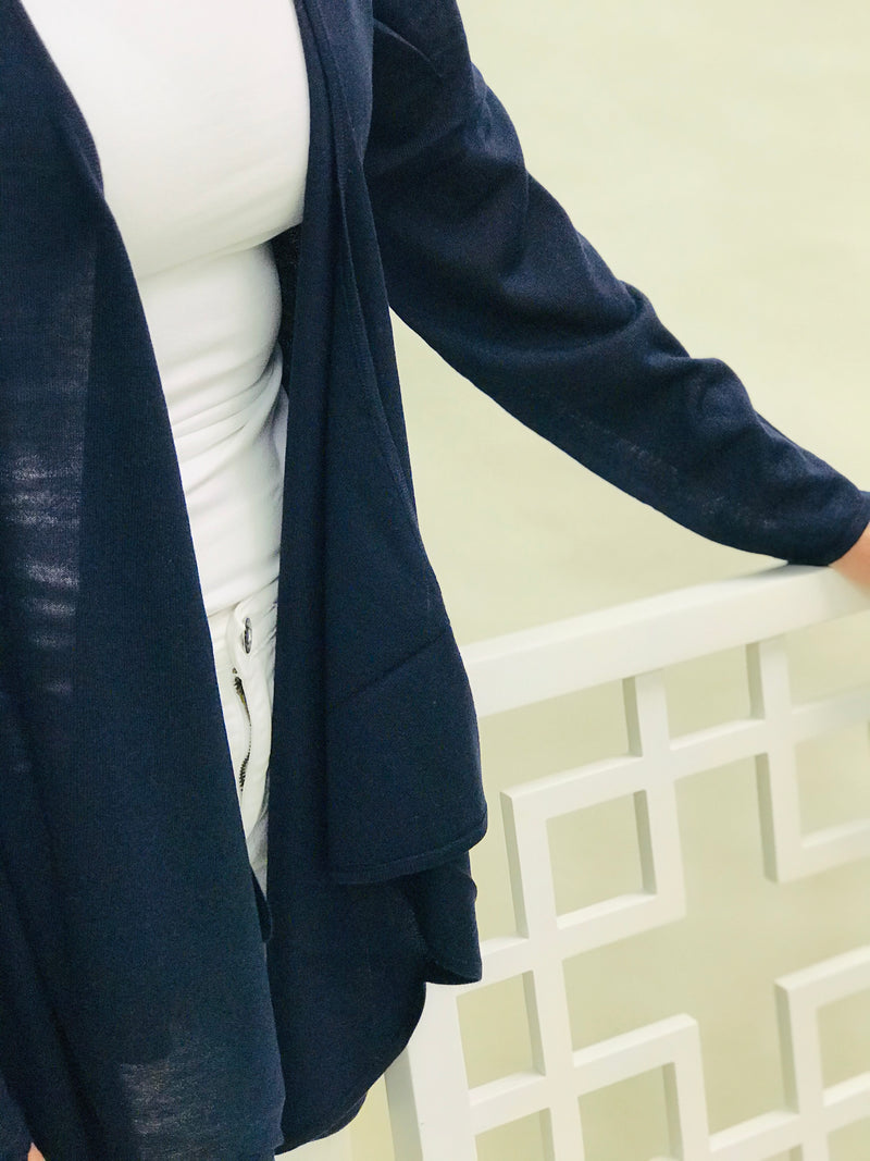 Mimi Open Front Cardigan