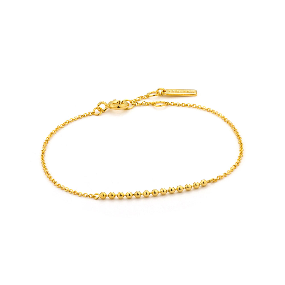 Gold Modern Multiple Balls Bracelet