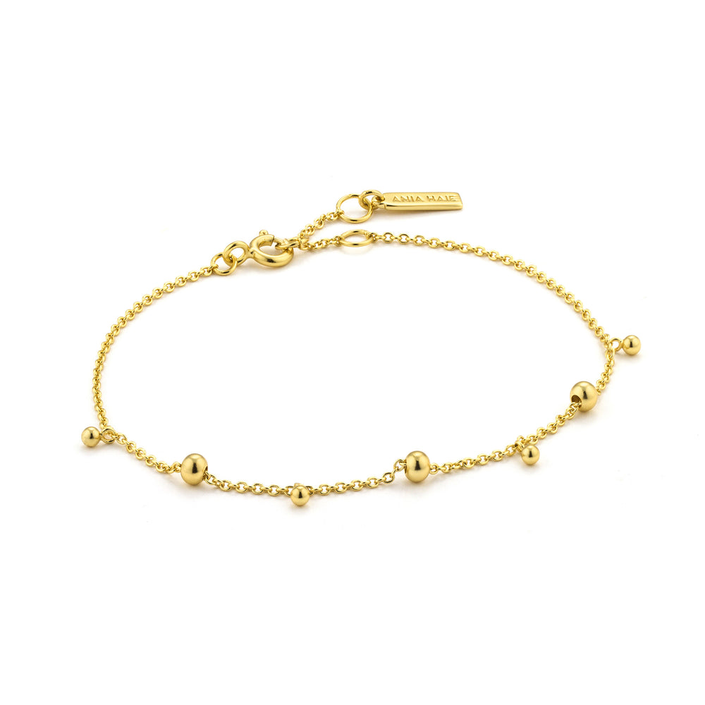Load image into Gallery viewer, Gold Modern Drop Balls Bracelet
