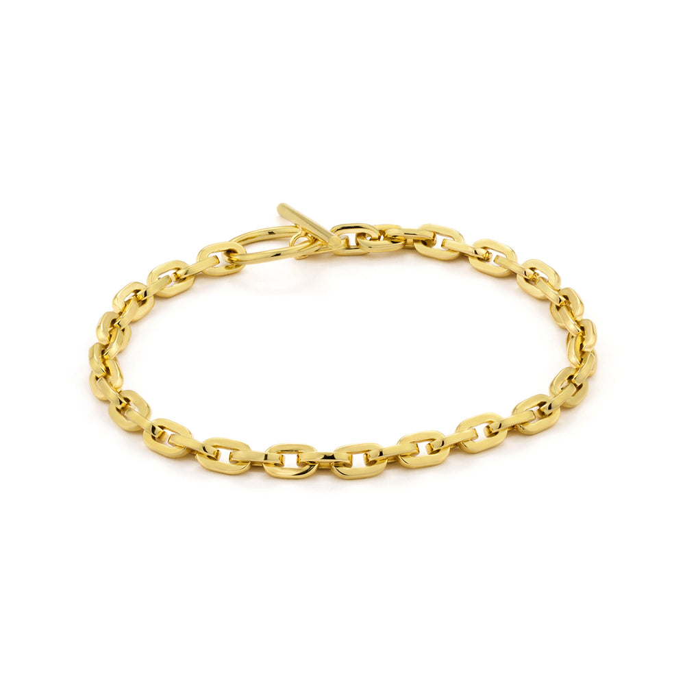 Gold Chain Hook Bracelet