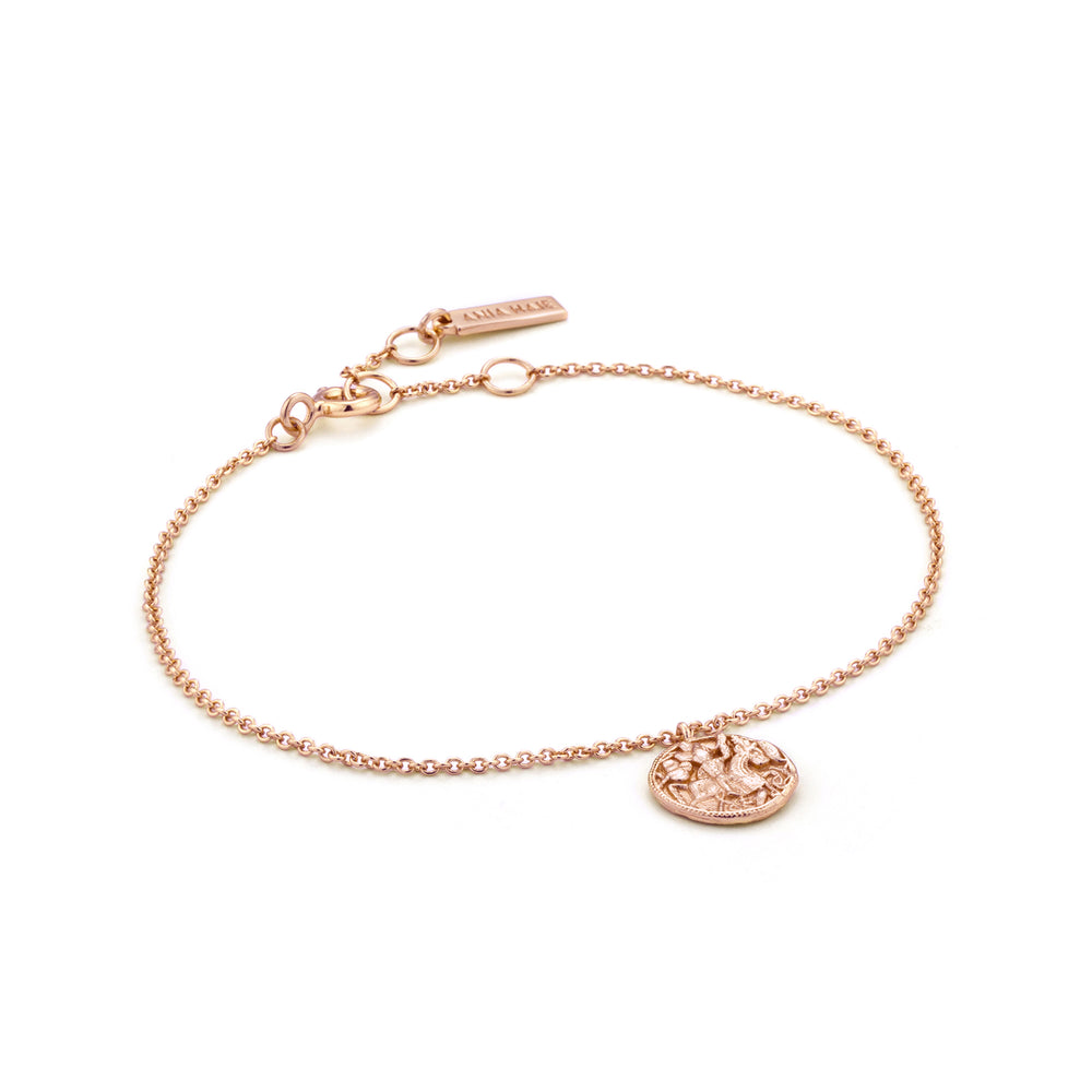 Rose Gold Greek Warrior Bracelet