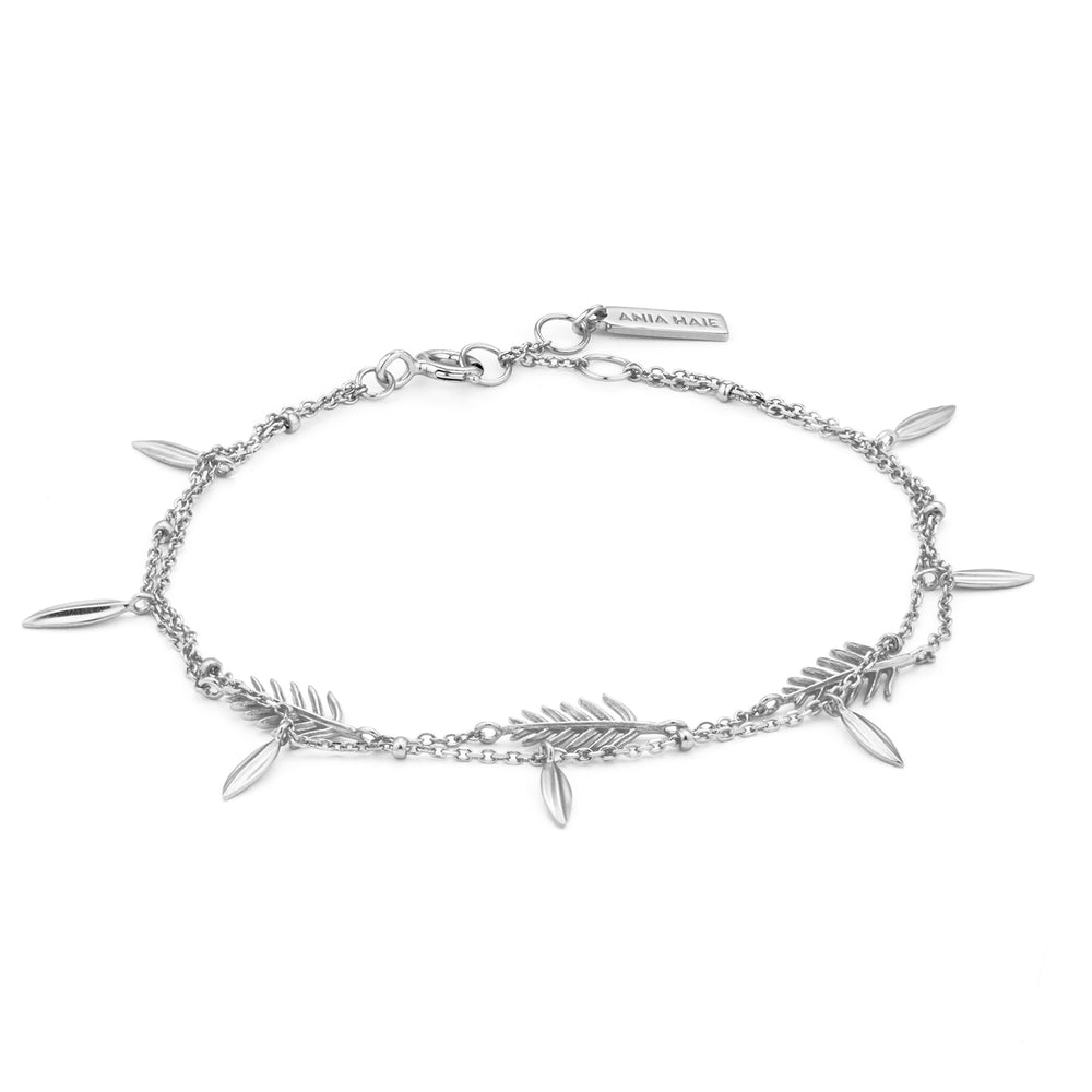 Load image into Gallery viewer, Silver Tropic Double Bracelet
