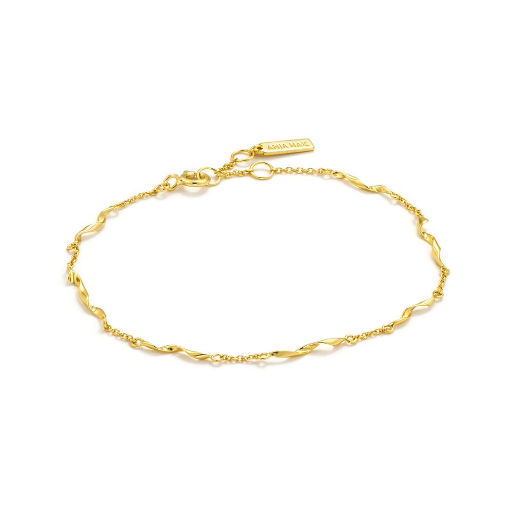 Load image into Gallery viewer, Gold Helix Bracelet