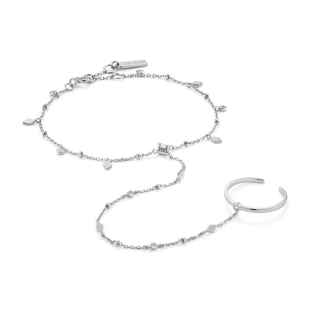 Load image into Gallery viewer, Silver Bohemia Hand Chain Bracelet