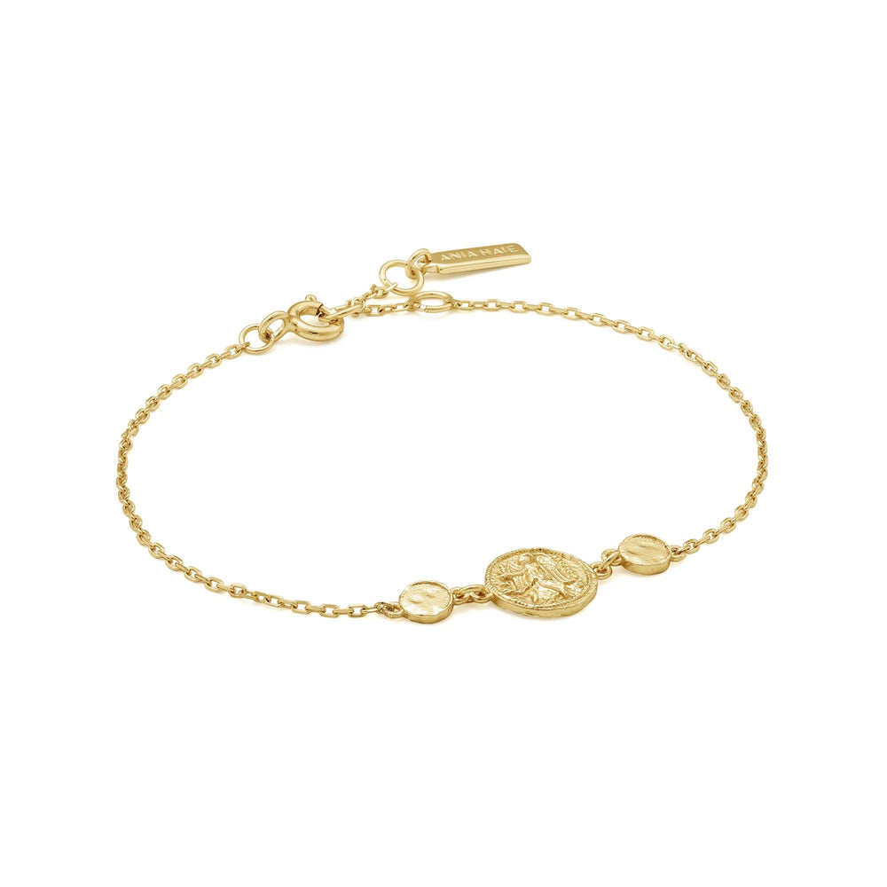 Load image into Gallery viewer, Gold Nika Bracelet