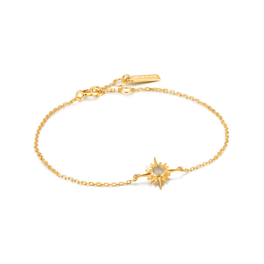 Gold Midnight Star Bracelet