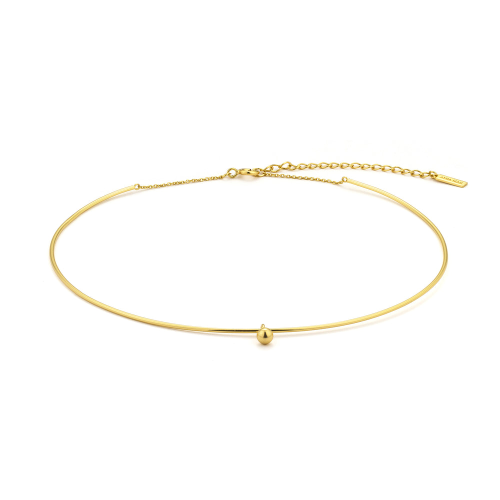 Load image into Gallery viewer, Gold Orbit Solid Choker