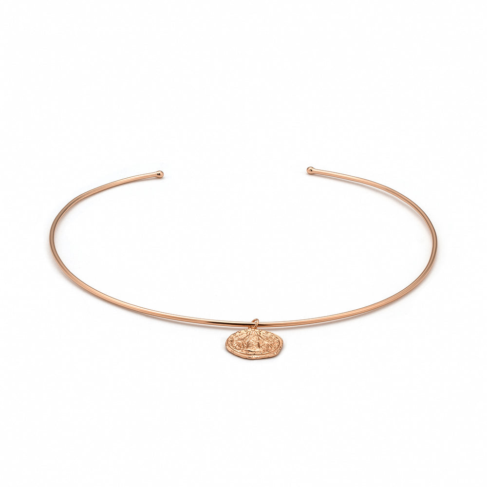 Rose Gold Deus Choker