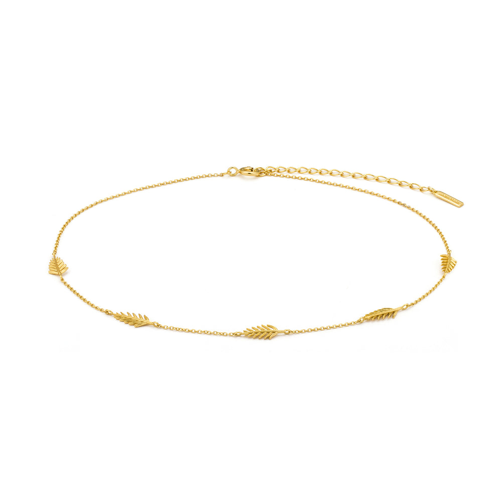 Gold Palm Choker