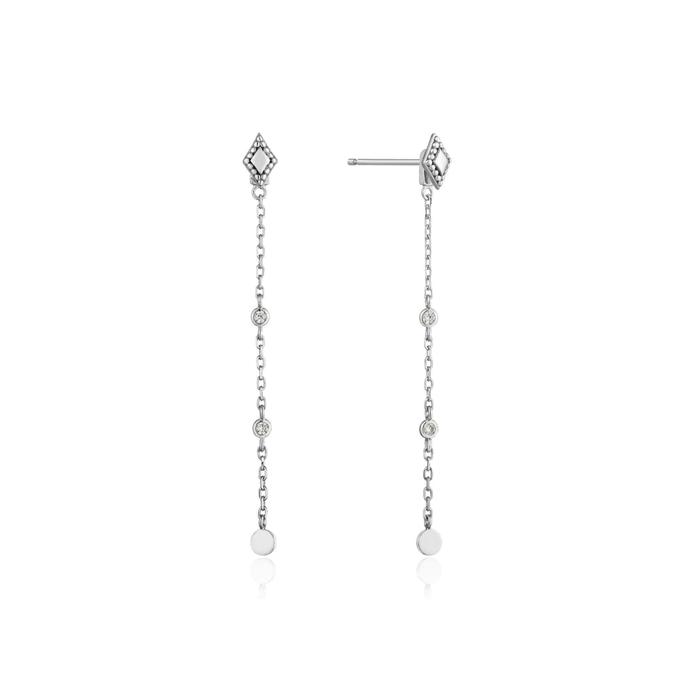 Silver Bohemia Drop Earrings